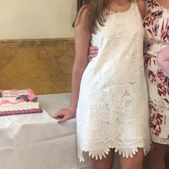 Lily Pulitzer White Lace Dress